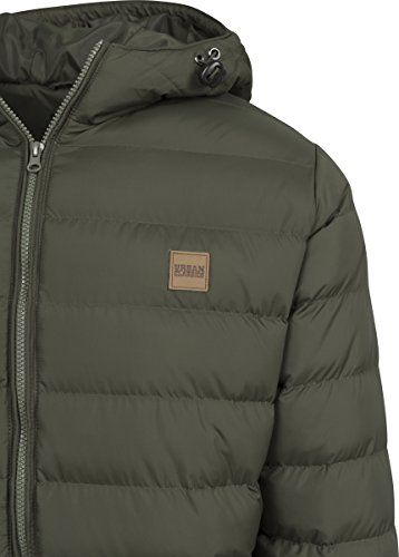 Bubble Urban darkolive Uomo Giacca Basic Classics darkolive Grün Jacket 1165 black r7EHq