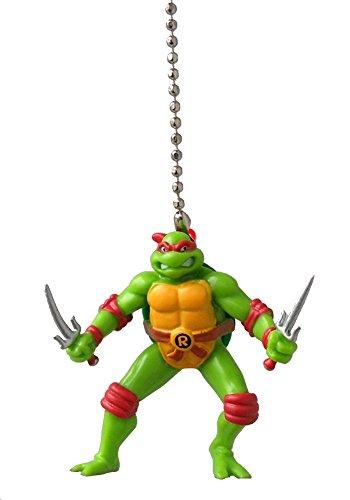 Teenage Mutant Ninja Turtles Figure Ceiling FAN PULL light chain (RAPHAEL - red mask) (Ninja Turtles Sensei)