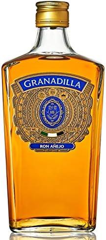 Pack Exclusivo Ron Añejo Granadilla – Doble Medalla de Oro: Premios China Wine Spirits Awards 2017 y Medalla de Bronce: Premios Berlin International ...