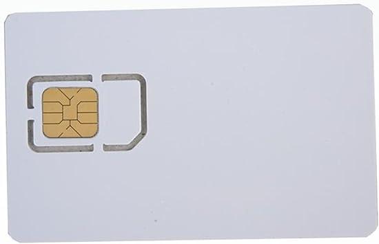 10 piezas Tarjeta SIM en blanco programable grabable USIM 4G LTE WCDMA GSM Nano tarjeta micro SIM 2FF 3FF 4FF para operador de telecomunicaciones AHongem