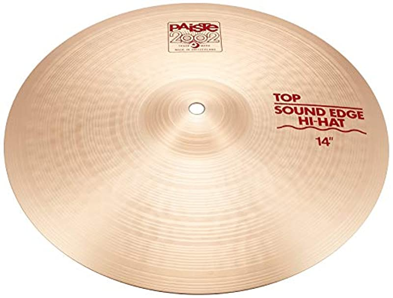 PAiSTE 심벌즈 2002 Sound Edge Hi-Hat (Top) 14