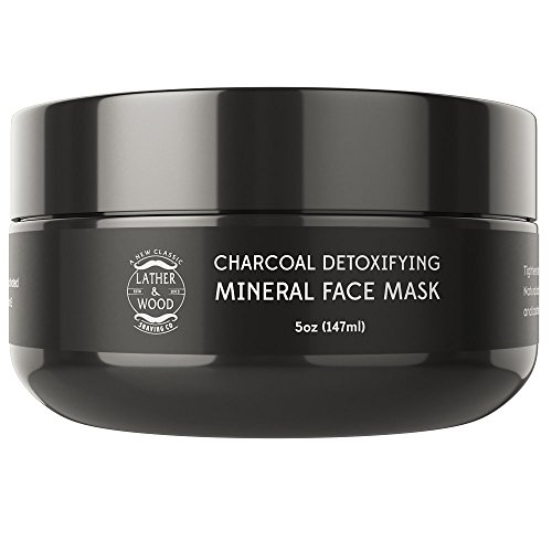 Leading Charcoal Mud Mask For Men - Feel Like a Million Bucks - Removes Deep Grime and Pollution - Purify Your Pores and Restore Your Skins Texture and Appearance. 5 oz