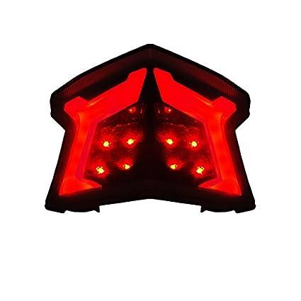 Integrado LED luz trasera negro/humo Kawasaki Ninja 650/Z650 ...