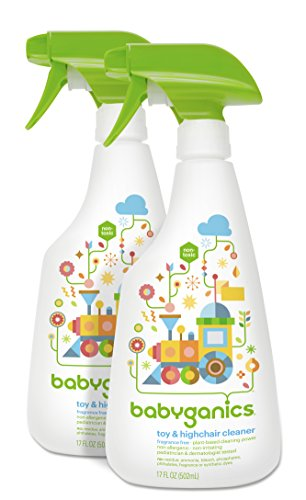 Babyganics-Toy-Highchair-Cleaner-17-Fluid-Ounce-Bottles-Pack-of-2-Packaging-May-Vary