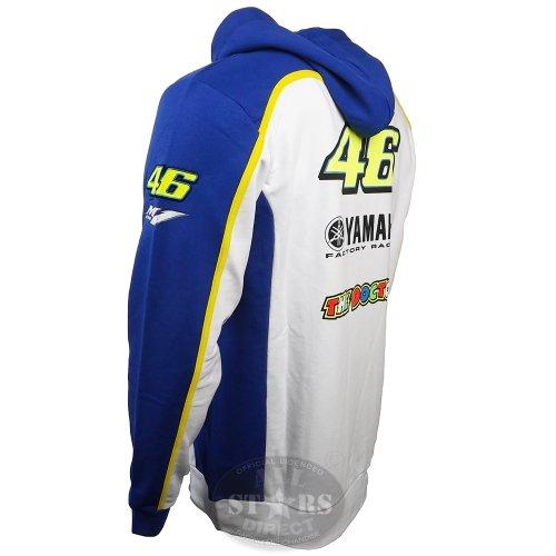 Valentino Rossi Oficial Yamaha M1 YZR 46 Hoodie VR/46 Moto GP: Amazon.es: Deportes y aire libre