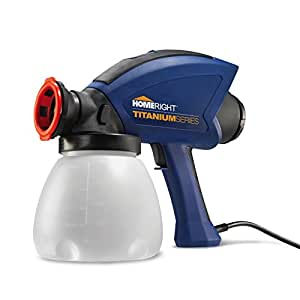 HomeRight C800917.M 2-Speed 8.0 GPH Heavy Duty Paint Sprayer, 120-watt