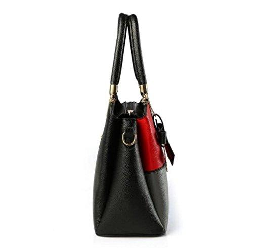 A Shoulder Messenger Lady Bag Handbag Bag Trend Fashion JPFCAK Fight Color qvYpn4x