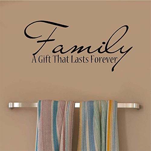 Yushen Wall Decor Stickers for Living Room Family A Gift That Last Forever for Living Room