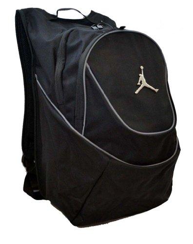 Nike Air Jordan Black and Graphite Backpack