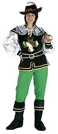 Disfraz de Mosquetera Original para adultos: Amazon.es: Ropa y ...