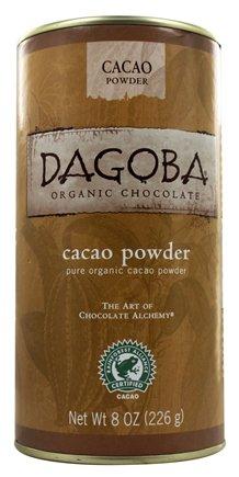 Dagoba Organic Chocolate - Pure Organic Cacao Powder - 8 oz.