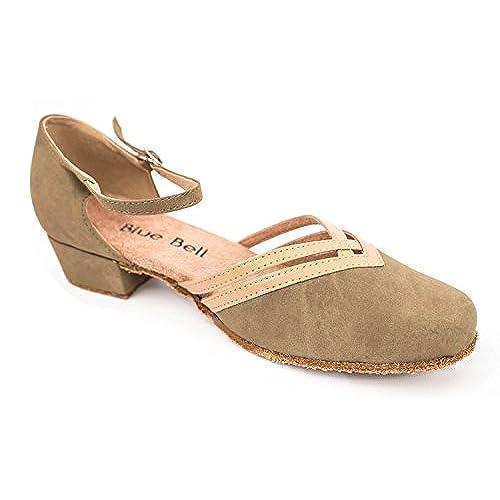 8d1667aa5a091 lovely Blue Bell Shoes HANDMADE Women's Ballroom Salsa Competition ...