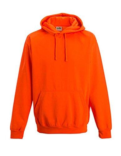 Floureszierend Sweatshirt Neon fun Homme Orange shirt t Sweat Mit Kapuze Coole neonorange shirts xIf0TS