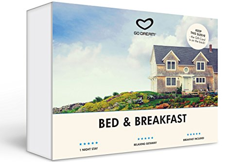 Bed and Breakfast Experience Gift Card NYC - GO DREAM - Sent in a Gift Package - Nyc Antique