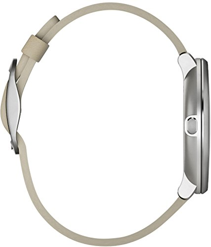 Pebble Time Round 14mm Smartwatch for Apple/Android Devices - Silver/Stone by Pebble Technology Corp (Image #4)