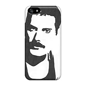 Perfect Hard Phone Case For Iphone 5/5s With Unique Design Trendy Marilyn Manson Band Pictures EricHowe