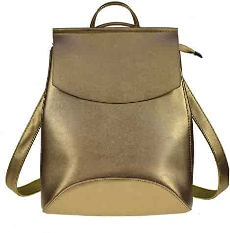 ab07f0fddc59 Shopping Faux Leather - Golds or Ivory - Fashion Backpacks ...