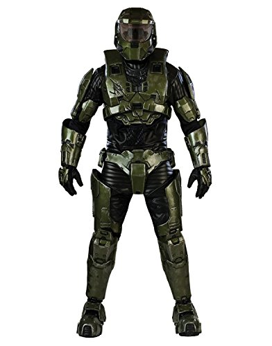 [Halo Master Chief Costume, Adult Standard] (Master Chief Suit For Sale)
