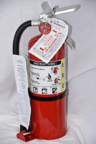 Fire Kidde Extinguisher Abc (B-500 Amerex ABC Fire Extinguisher /With Certification Tag. Fire Inspection Ready)