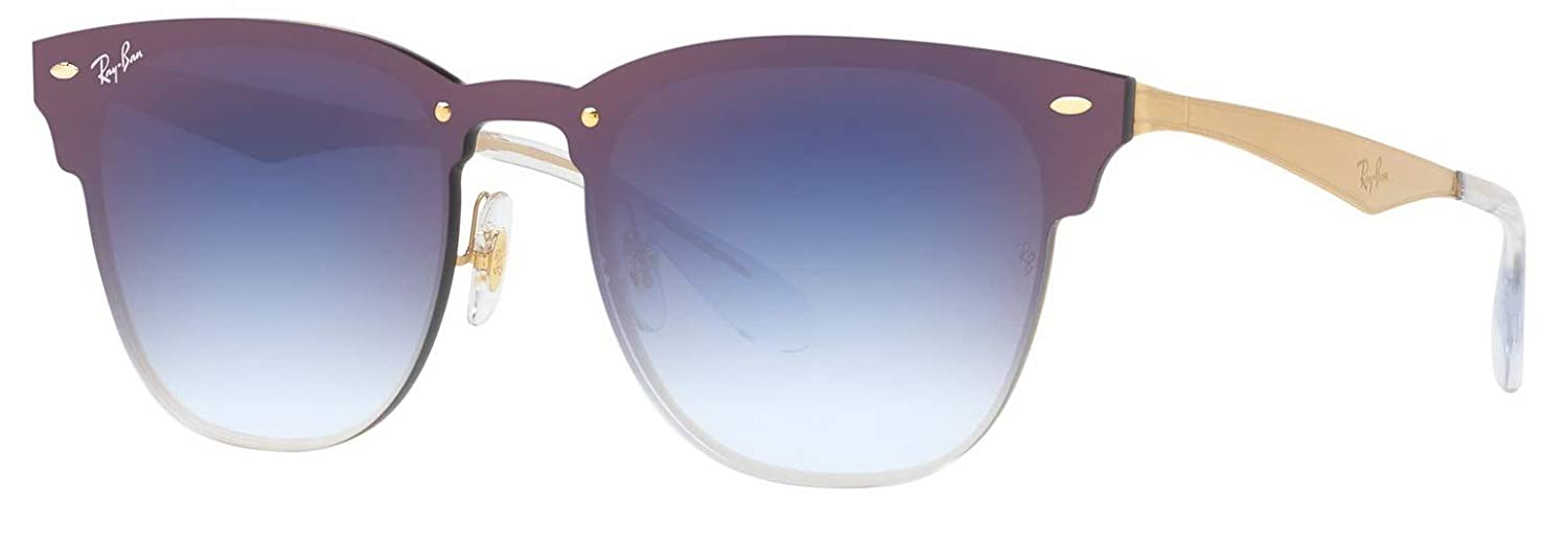 c57f78fd7a4 Ray-Ban RB3576N Blaze Clubmaster Unisex Sunglasses 043 X0 - 41mm   Amazon.co.uk  Clothing