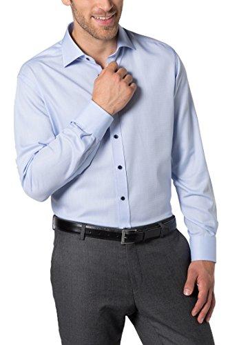 ETERNA long sleeve Shirt MODERN FIT Fancy weave structured