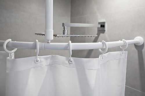 Aluminio arco Barra Barrera Libre Blanco y Plata Brillante, Weiss ...