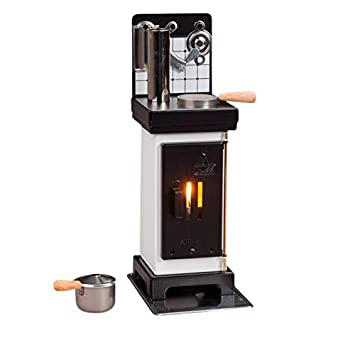 Huss miniatura acero estufa horno difusor de aceite de quemador de incienso fumador alemán: Amazon.es: Hogar