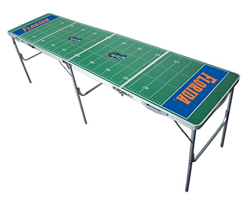 Florida Gators 2x8 Tailgate Table by Wild (Sports Fan Tailgate Table)