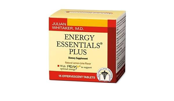 Amazon com: Energy Essentials Plus - Effervescent Tablets (1