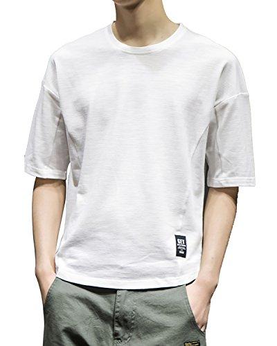 百万冒険者スプーン(ユディモニール)Eudemonia Tシャツ 半袖 カットソー メンズ ゆったり ストリート系 ファッション