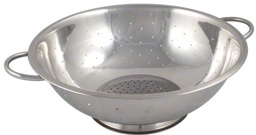 UPC 028238510795, Browne (R23) 3 qt Stainless Steel Footed Colander