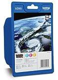 Brother LC-985 C/M/Y Cian, Amarillo cartucho de tinta - Cartucho de tinta para impresoras (Cian, Magenta, Amarillo, DCP-J125/315/515, MFC-J220/265/410/415/615, ISO/IEC 24734, Inyección de tinta, Ampolla, 10 - 70%)