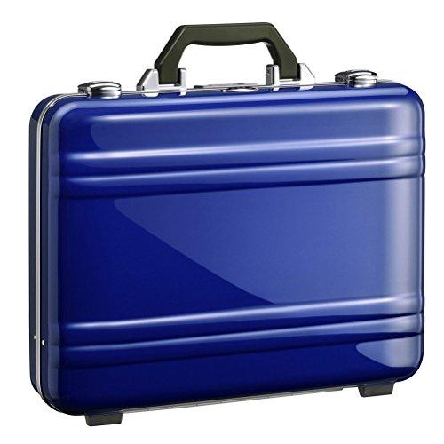 Zero Halliburton 2.0 Small Classic Framed Polycarbonate Attaché Briefcase, Blue, One (Framed Briefcase)