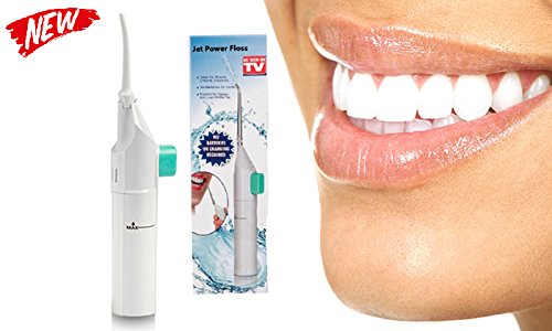 5 opinioni per EuroQuality Power Floss–Idropulsore per bocca e denti (senza batterie), per