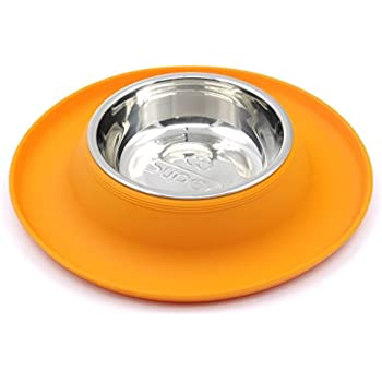 Amazon Com Hepper Nomnom Modern Cat And Dog Dish With