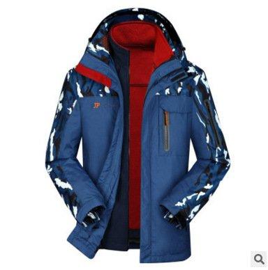 Blue Collar DYF Big Lake FYM Jacket JACKETS Zipper Size Camouflage Ski Sleeve Coat Long Jacket nqY6OqxrZ
