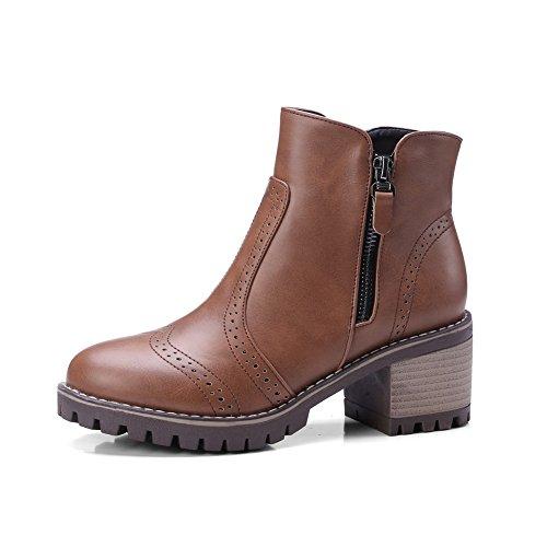 BalaMasa Para Marrón Zapatos mujer cerrados B0W68B