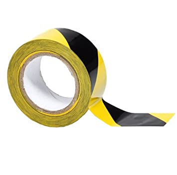 Perfect Black U0026 Yellow Safety Floor Tape 2u0027u0027 X ...