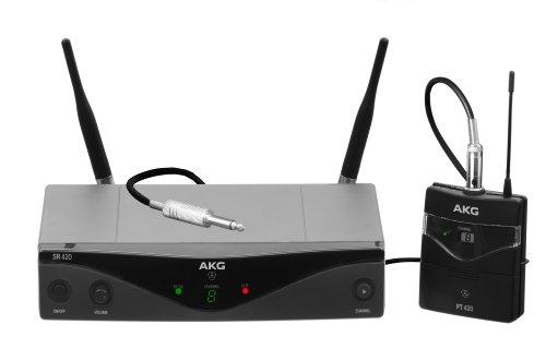 AKG Pro Audio WMS420 Instrumental Band A Wireless Microphone System by AKG Pro Audio