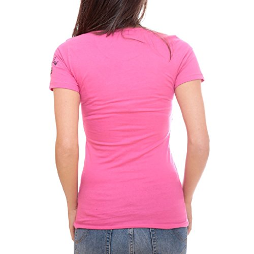 Femme taille Rose Jallyne Geographical Norway Tshirt 2 nqxZRxATw