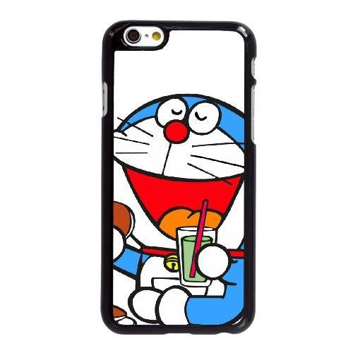 U8V47 Doraemon Y8D9ZT coque iPhone 6 Plus de 5,5 pouces cas de couverture de téléphone portable coque noire KJ0VRW8NA
