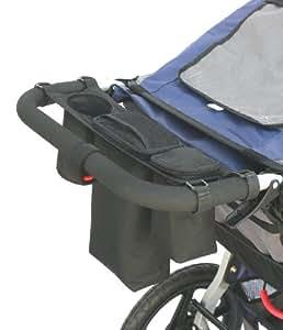 LuElla Wag N Walk Pet Stroller Cooler Console