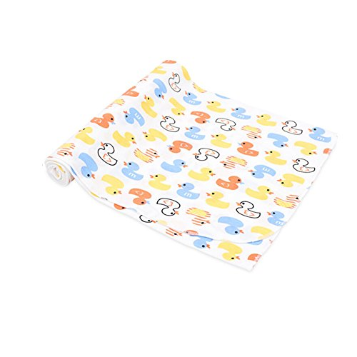 CuteOn Soft Cotton Hospital Receiving Multifunction Blankets for Unisex Baby 87 Ducks ()