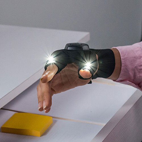 Atomic Beam Glove Flashlight By Bulbhead Led Light Gloves