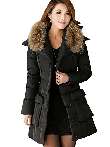 Komene Women's Warm Long Down Jackets ($)