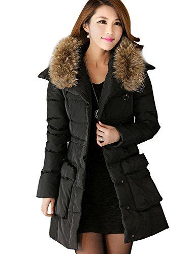 Komene Women's Warm Long Down Jackets ($)