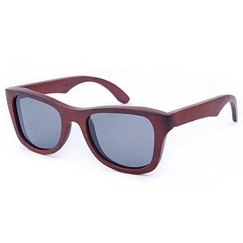 a Hechos de Alta de Hombres Gafas Gu Gafas Protección de Calidad Retros Ojos Lens de Polarized Beach Peggy TAC UV de Mano Sol Gafas conducción de de Sol los Sol Madera de Gato TOx8wq6E4