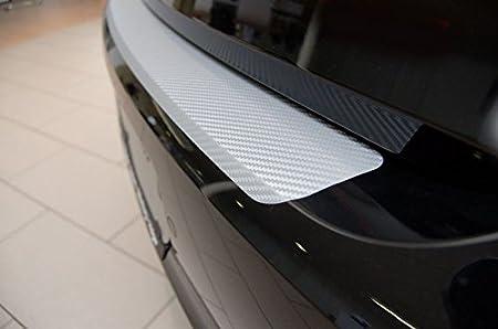 Unbekannt Ladekantenschutz Carbon Style Folie Silber Auto