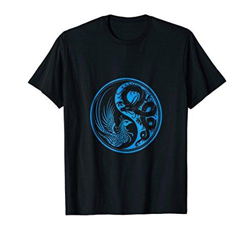 Ying Yang Dragons - Dragon Phoenix Ying Yang T Shirt