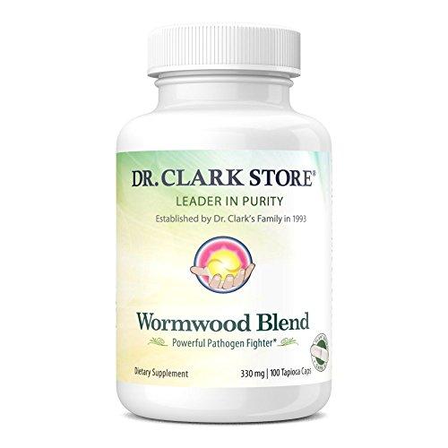 Dr. Clark Wormwood Blend, 365 mg 100 Vegetarian Capsules